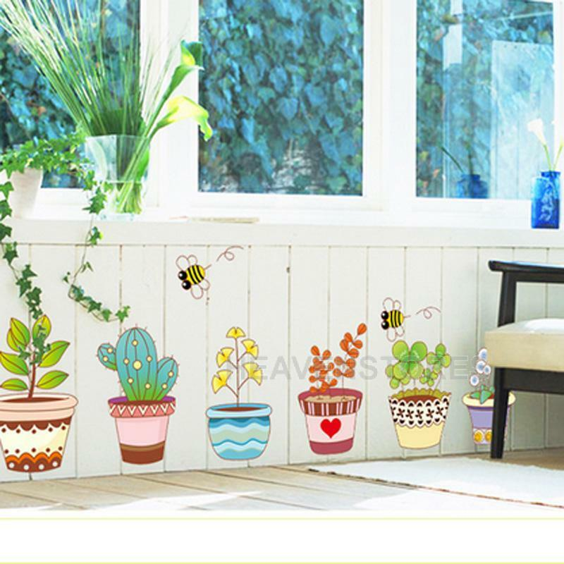 Funny home decor flowerpot flower bee garden school kids for Odd decorations for home