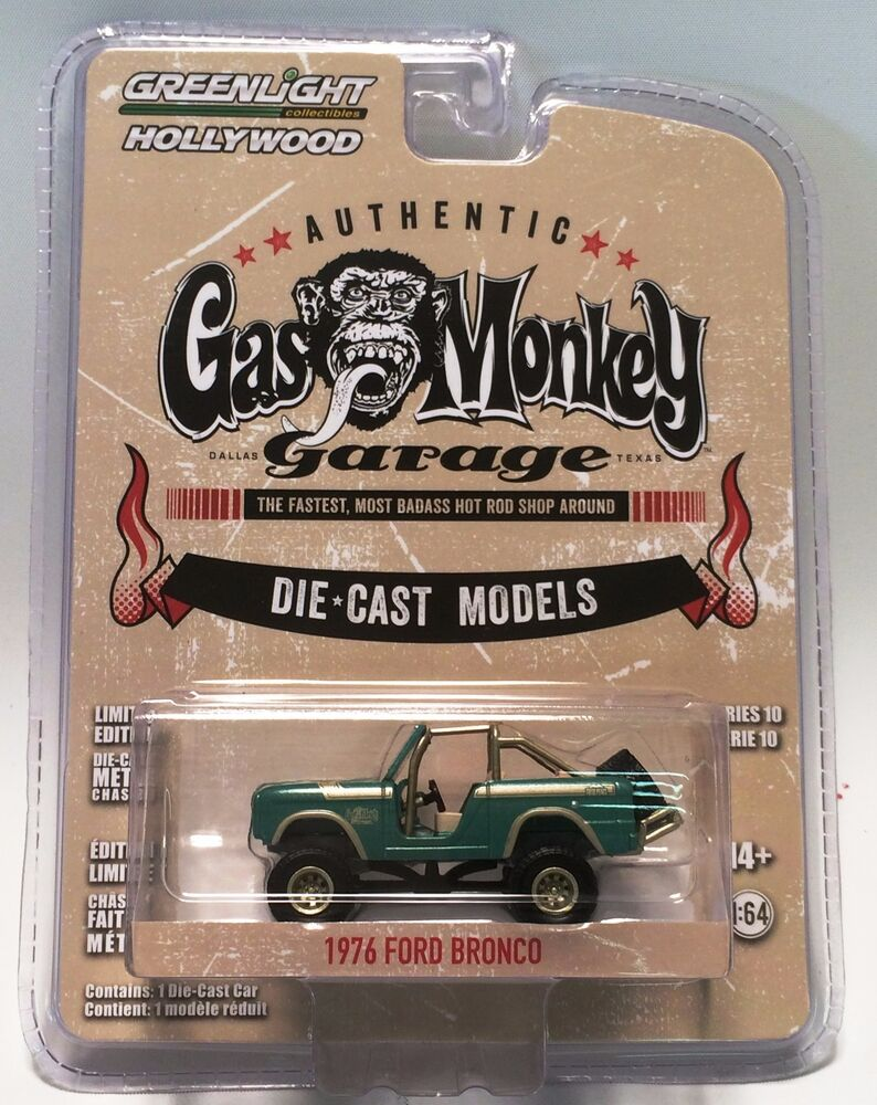 gas monkey garage diecast bronco from greenlight. Black Bedroom Furniture Sets. Home Design Ideas