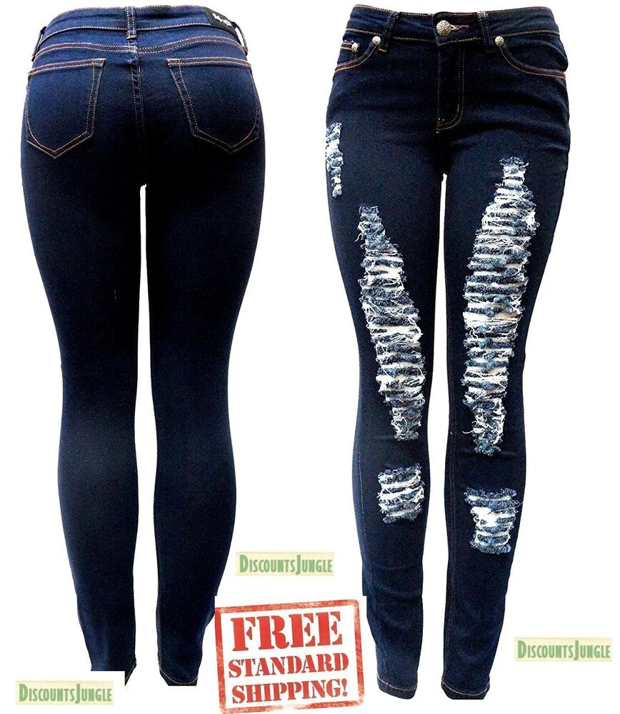 articles of society Womens 27x28 Skinny Denim Jeans Dark Wash