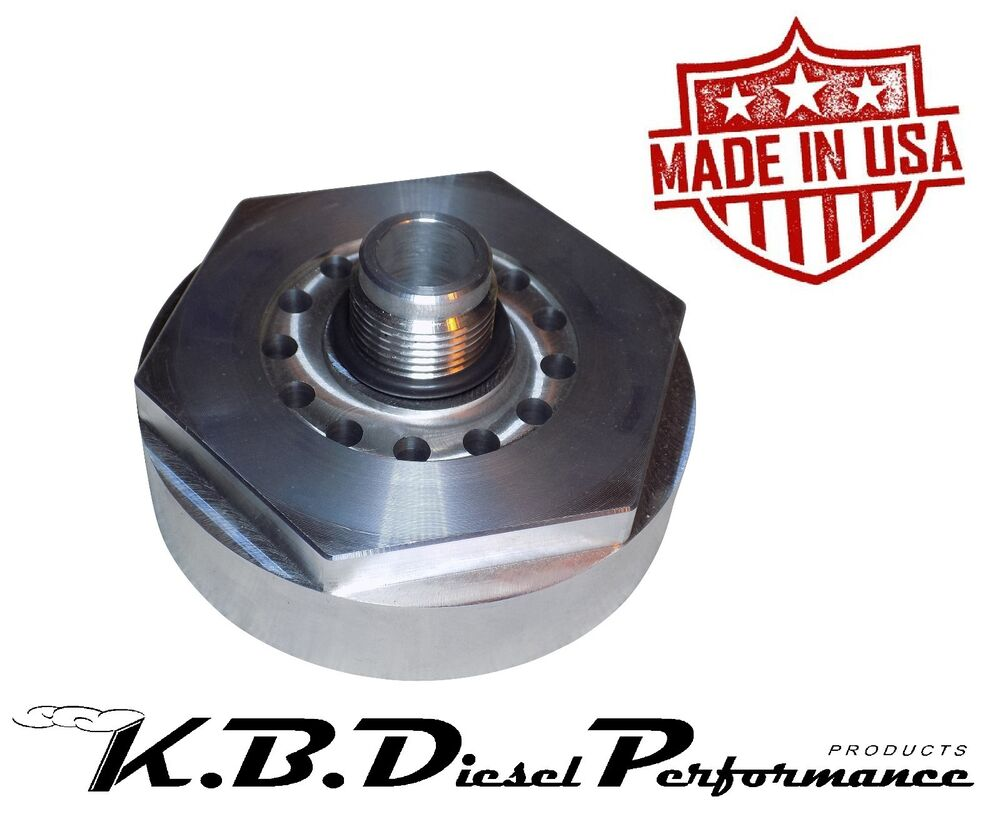 S L on Cat Diesel Fuel Filter Base
