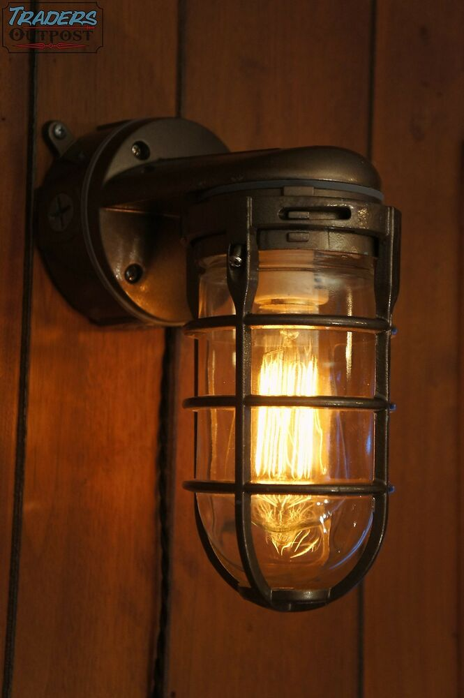 industrial lighting fixtures vintage industrial explosion proof wall lamp sconce 29574