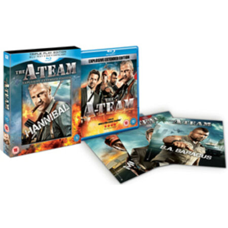 img-The A-Team: Combi Pack Blu-Ray (2010) Liam Neeson, Carnahan (DIR) cert 15 3