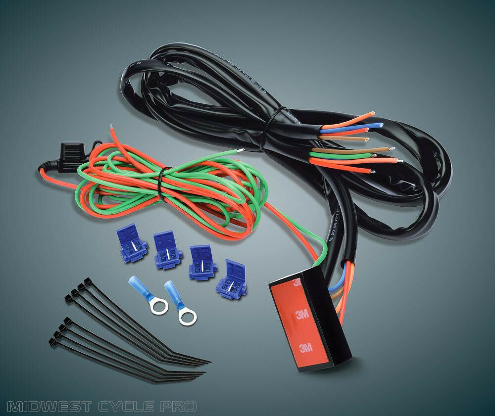 can wiring harness 300w led wiring harness in 3m length relay switch button motorcycle wiring harness