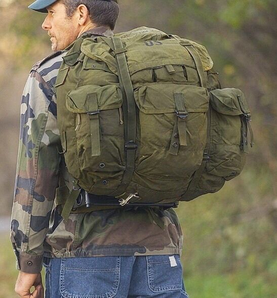 Us Od Army Alice Pack Large Without Frame Real Military