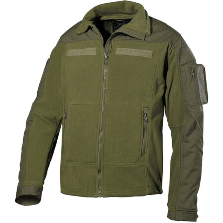img-MFH TACTICAL US COMBAT MENS FLEECE WARM HUNTING HIKING RIPSTOP ARMY JACKET OLIVE