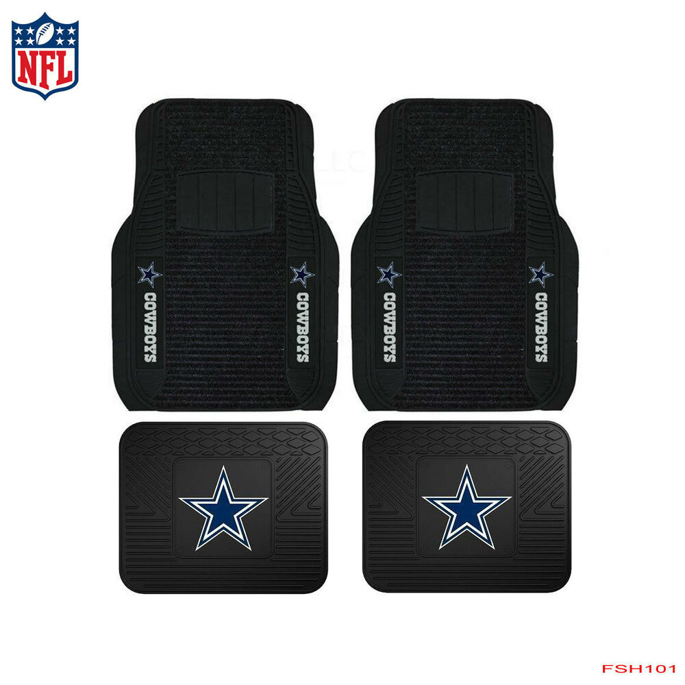 New Nfl Dallas Cowboys Car Truck Front Rear Rubber Heavy