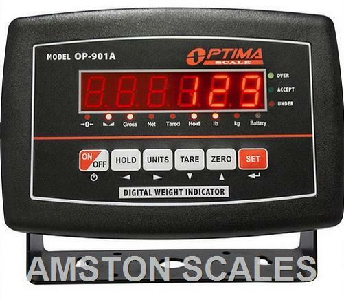 Load Cell Indicators : Digital scale led display head monitor read out indicator