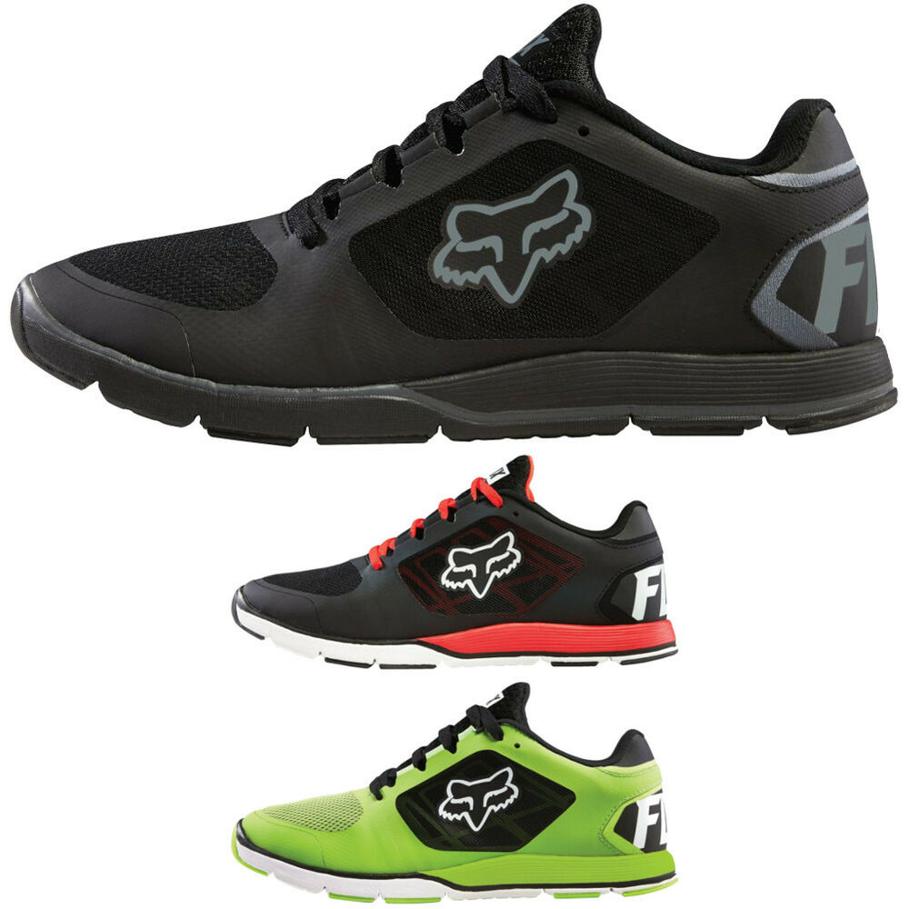 fox racing motion evo athletic mens running shoe