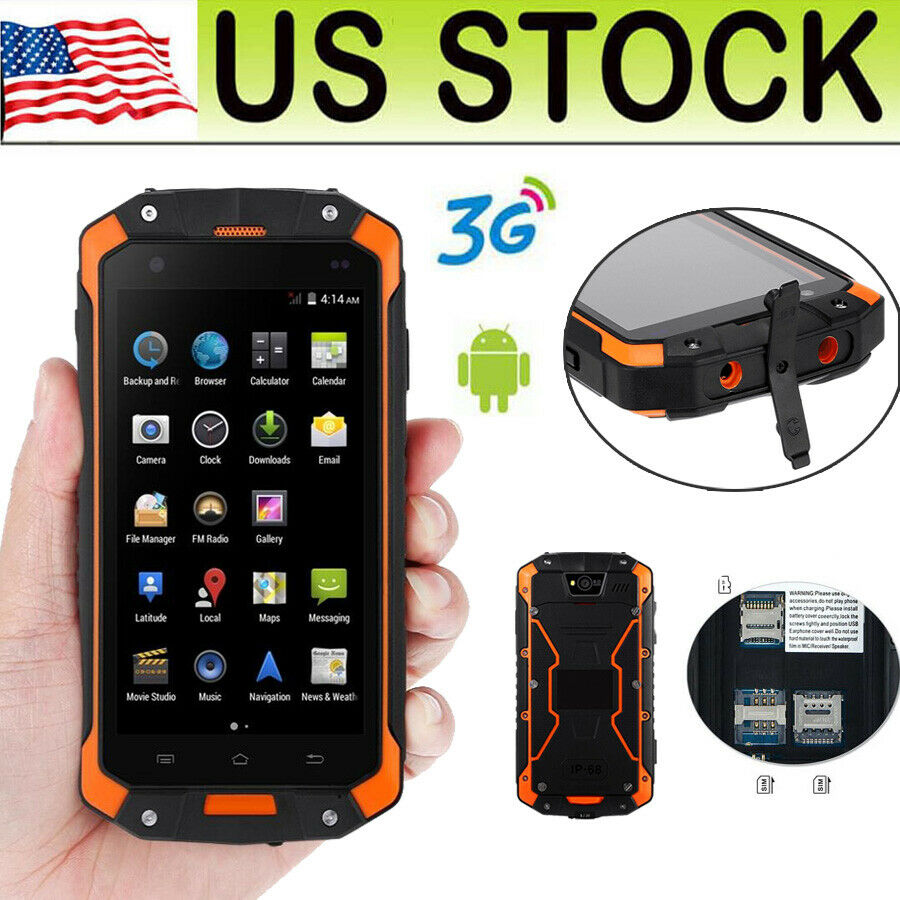 32gb 4 Quot Discovery V8 Dual Core Smartphone Rugged Android