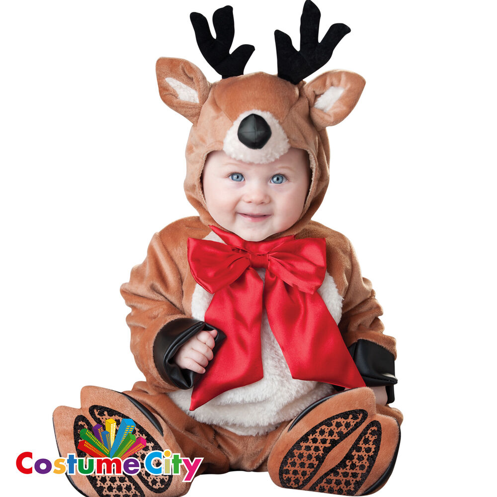 Baby Infants Reindeer Rascal Christmas Rudolph Fancy Dress Party ...