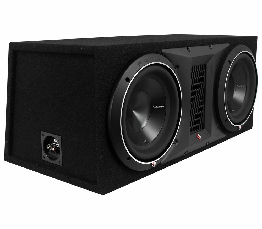 rockford fosgate punch p3 2x10 dual 10 2000w loaded. Black Bedroom Furniture Sets. Home Design Ideas