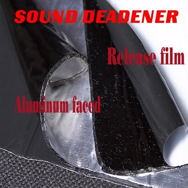 50mil 25sqft noise control mat automotive car sound deadener dampen deadening ebay. Black Bedroom Furniture Sets. Home Design Ideas