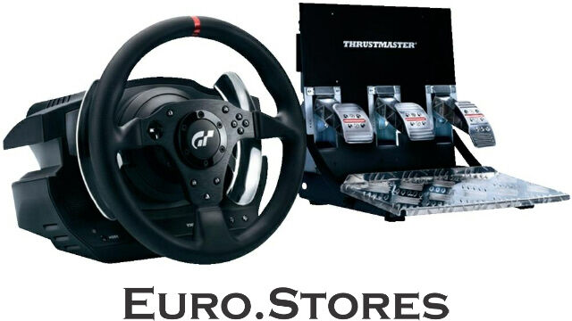 thrustmaster t500 rs usb game controller wheel pedals pc. Black Bedroom Furniture Sets. Home Design Ideas