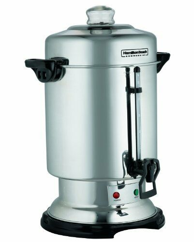 Coffee Maker With Metal Parts : Hamilton Beach D50065 Commercial Coffee URN, 60 Cup Stainless Steel COFFEE MAKER 887693950061 eBay