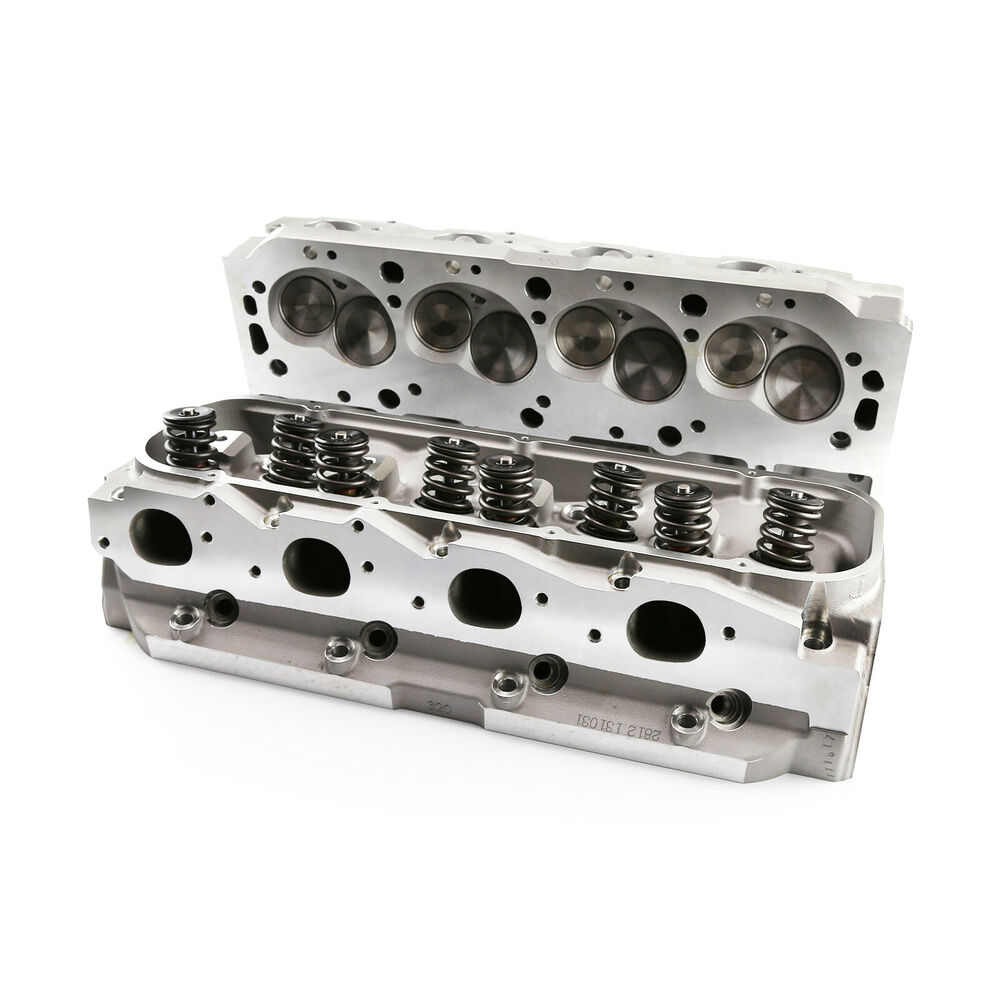 Complete Aluminum Cylinder Heads BBC Chevy 454 320cc 115cc