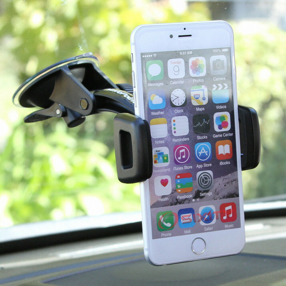 Car Mount Windshield Holder for Smart Cell Phone iPod ...