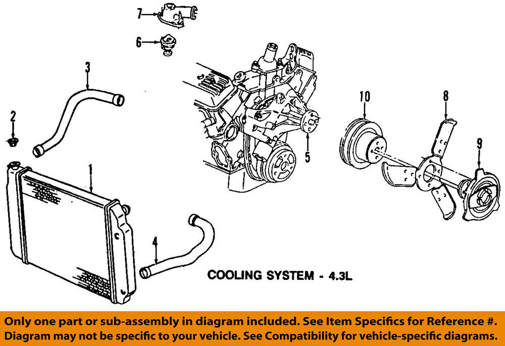 4 3l coolant diagram free vehicle wiring diagrams u2022 rh generalinfo co Mercruiser 260 Engine Cooling System Mercruiser Cooling System Diagram