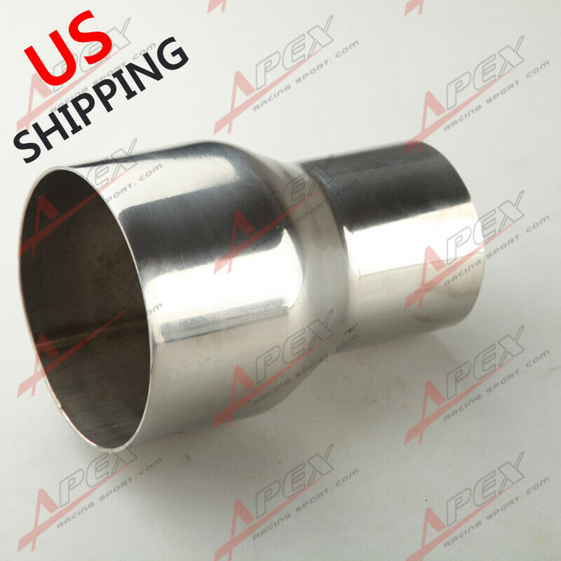 2 5 Quot To 3 5 Quot Inch Weldable Turbo Exhaust Stainless Steel