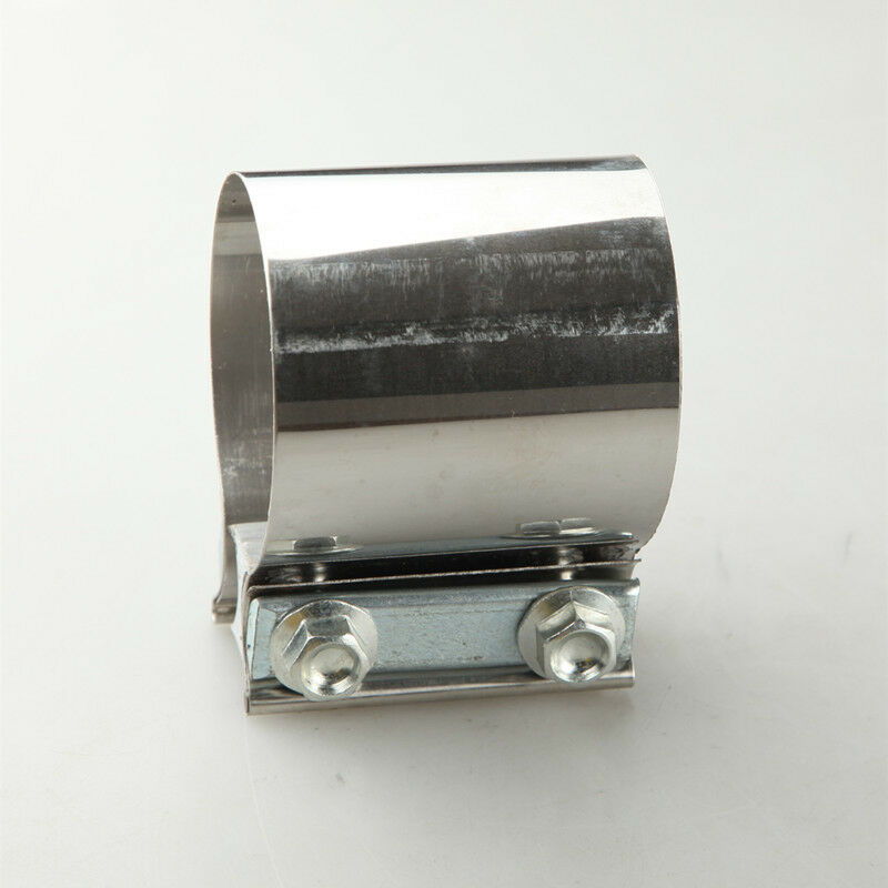 Quot stainless steel inch exhaust flat band clamp