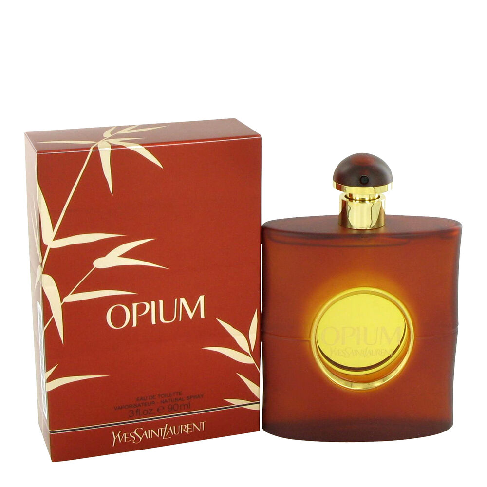 opium by yves saint laurent 3 0 oz edt spray new box tstr. Black Bedroom Furniture Sets. Home Design Ideas