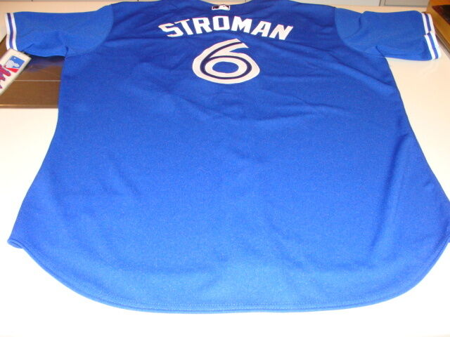 21c11296e Toronto Blue Jays MLB Baseball Jersey 52 Marcus Stroman Blue Pro Authentic  NWT