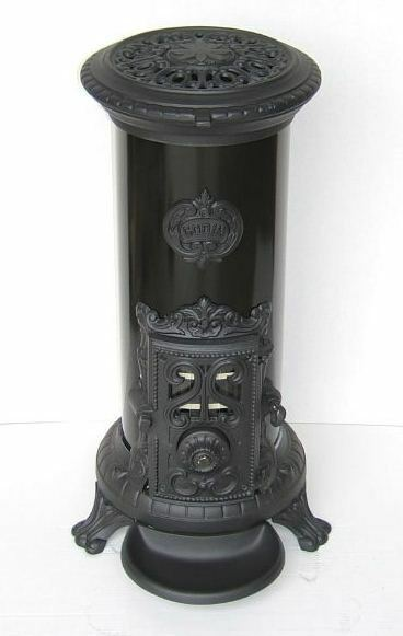 new 5 kw godin 3720 antique style cast iron wood coal multifuel stove black ebay. Black Bedroom Furniture Sets. Home Design Ideas