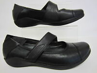 Clarks Ladies Indigo Charm  Black Leather Shoes UK Sizes 3 x 9   (R10A)