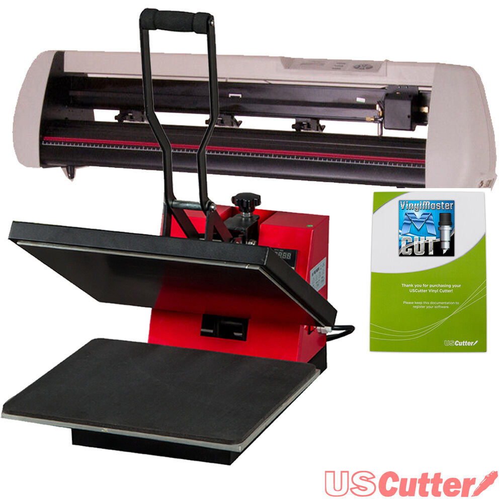 contour cut vinyl cutter heat press machine decal sign tshirt making business ebay. Black Bedroom Furniture Sets. Home Design Ideas