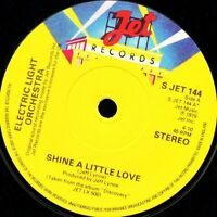 "ELECTRIC LIGHT ORCHESTRA shine a little love/jungle S JET 144 uk jet 7"" WS EX/"