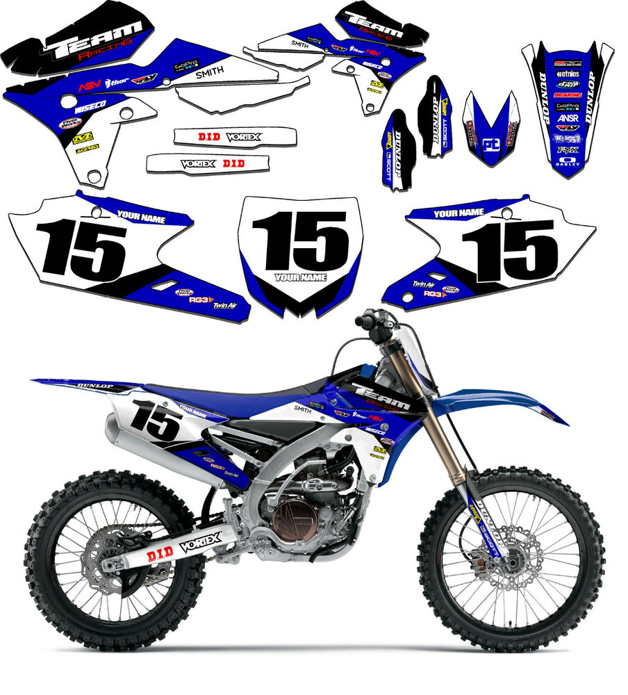 2015 2017 yamaha wr 250 graphics kit decals stickers for Yamaha wr 250 2017