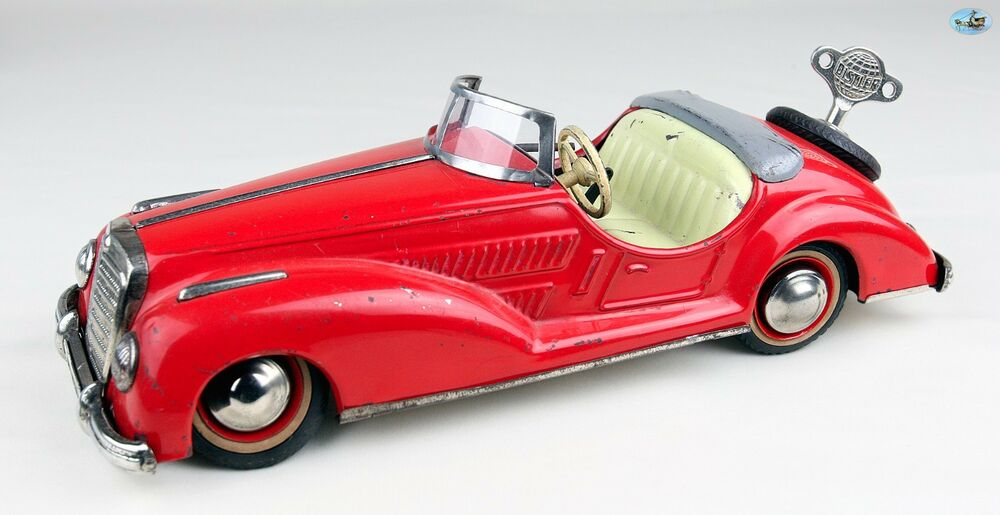 1950s german distler wind up toy red mercedes benz for Mercedes benz made in germany