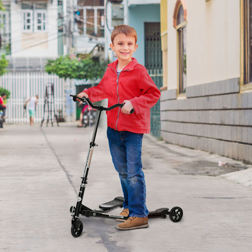 tri scooter children 3 wheels foldable speeder slider. Black Bedroom Furniture Sets. Home Design Ideas