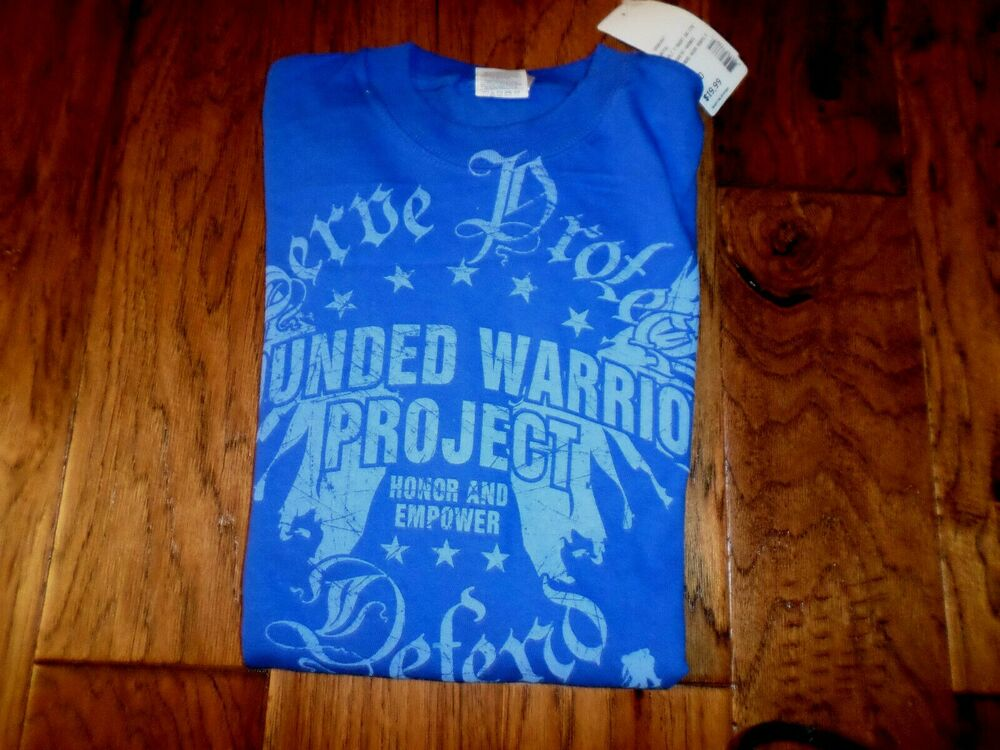 wounded warrior project t shirt