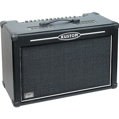 kustom hv100 high voltage series 2x12 guitar combo amp 100w amplifier 220v new ebay. Black Bedroom Furniture Sets. Home Design Ideas