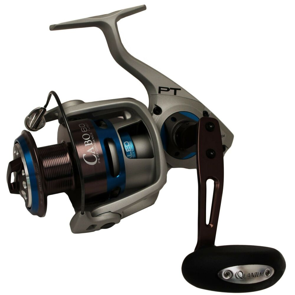Quantum zebco cabo 80 ptse spinning fishing reel 4 9 1 for Quantum fishing reel