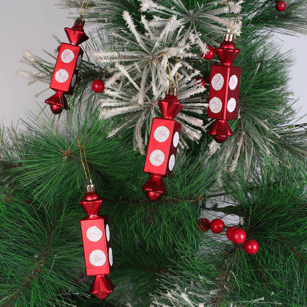 4 pcs cute christmas candy pendent christmas tree hanging for Decoration 4 christmas