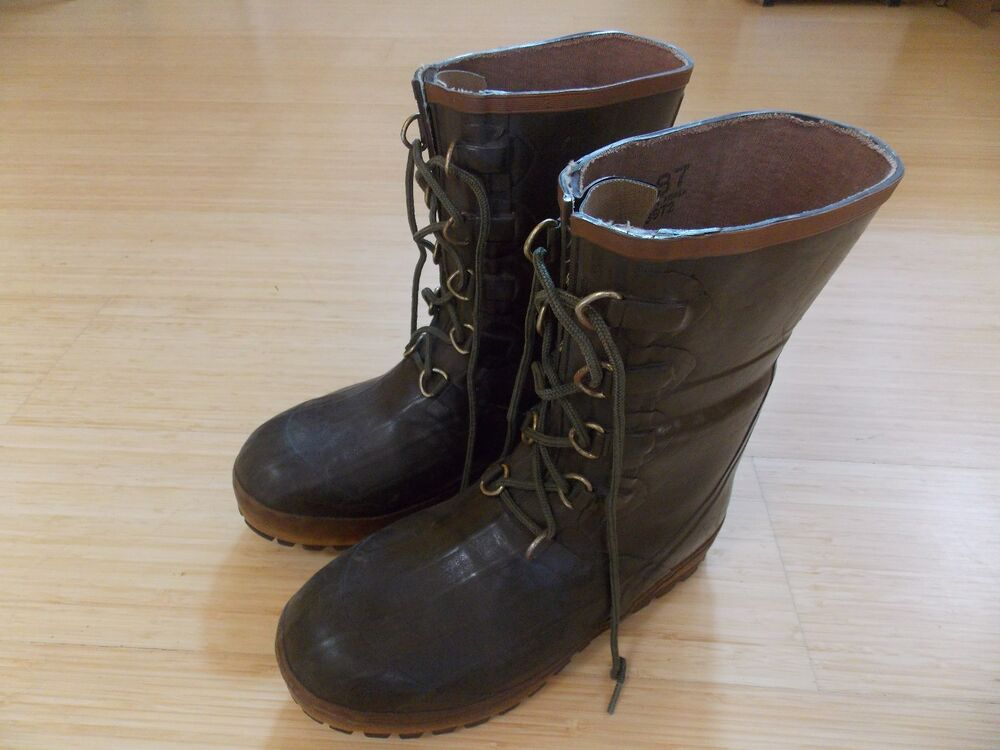 Hodgman Steel Shank Insulated Rubber Boots Hunting Fishing