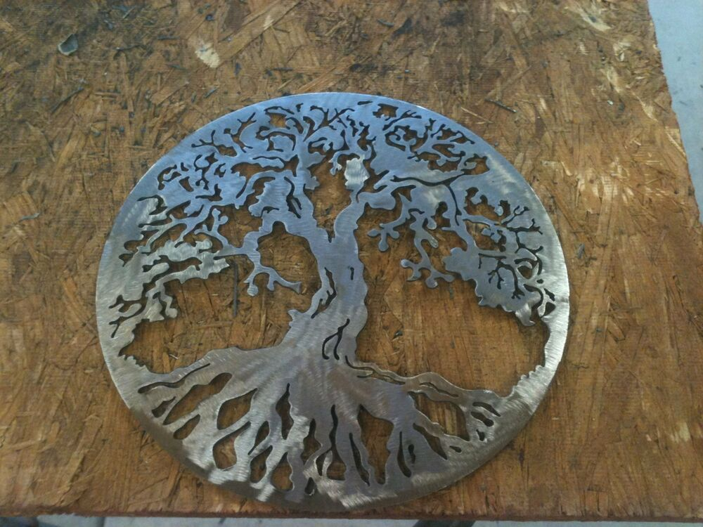 tree of life metal wall decor ebay. Black Bedroom Furniture Sets. Home Design Ideas