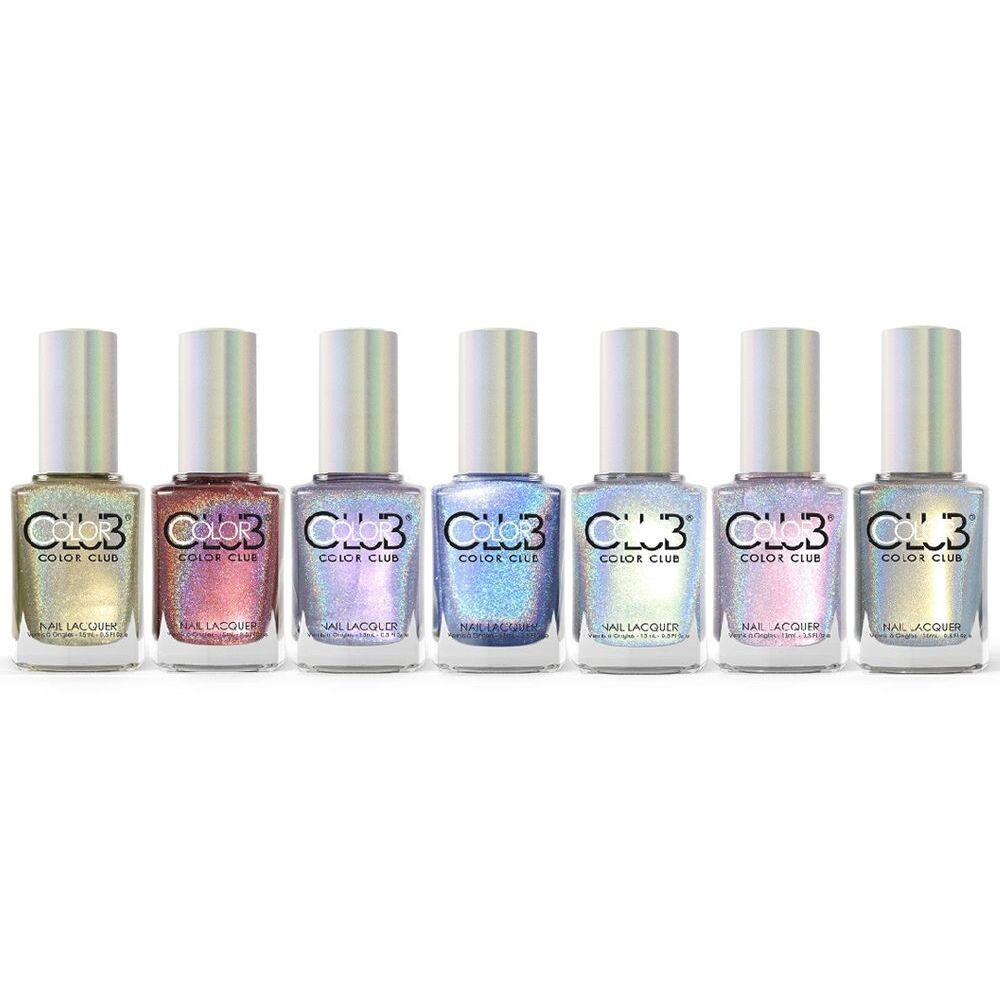 Who Sells Color Club Nail Polish: Color Club Halo Hues 2015 Holographic Nail Polish Lacquer