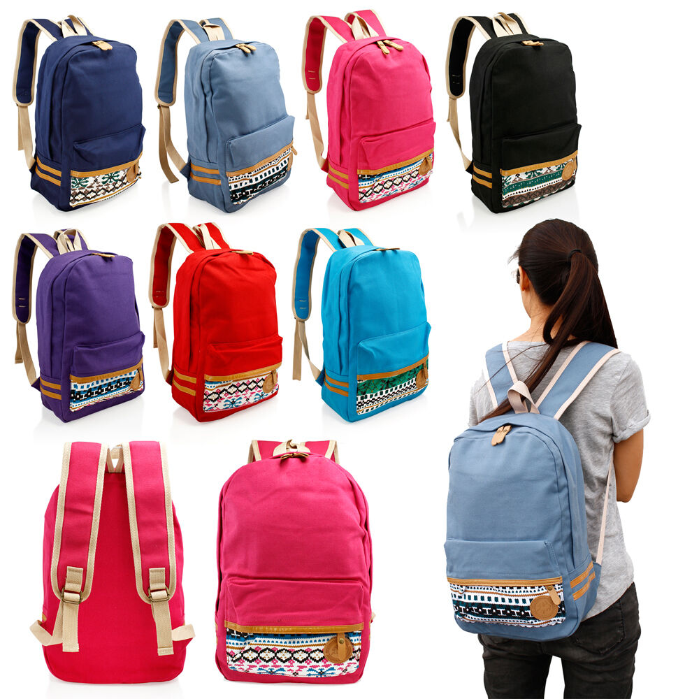 Lastest Women Backpack Canvas Feminine Backpacks For High School Girls High