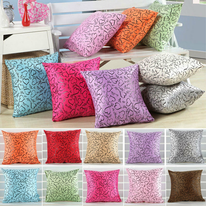 New throw pillow case cushion cover decor sofa bed home for Decorative bed pillow case