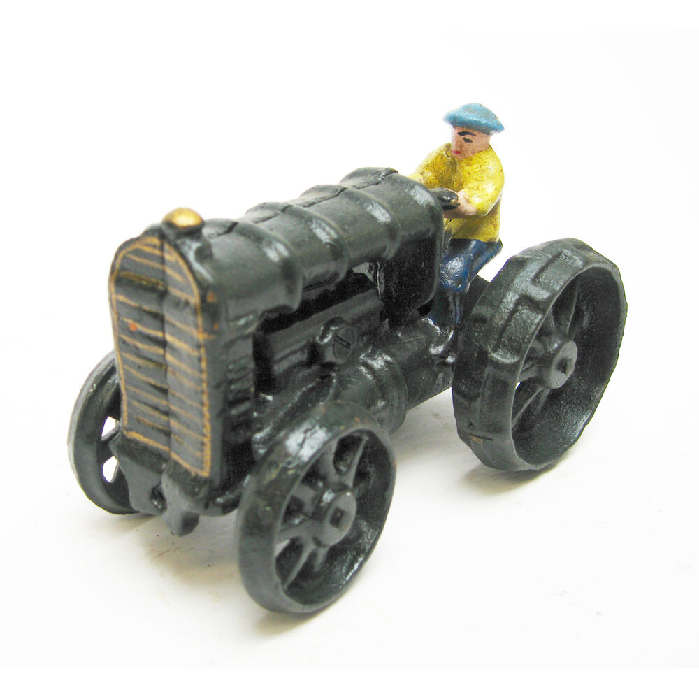 Iron Tractor Wheels : Collectible fordson moving wheels antique replica cast
