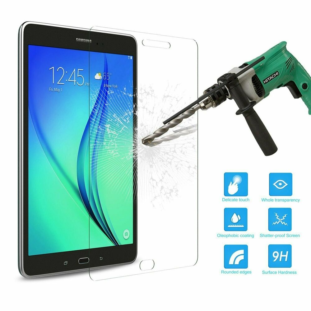 tempered glass screen protector for samsung galaxy tab a 8. Black Bedroom Furniture Sets. Home Design Ideas