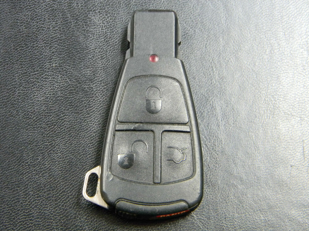 Mercedes benz ir key keyless entry fob remote oem iyz3302 for Mercedes benz key fob