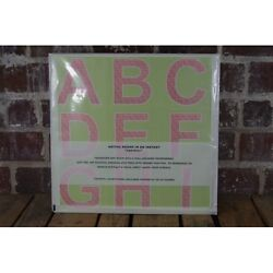 New Wall Candy Alphablox Alphabet ABC Wall Stickers in Pink