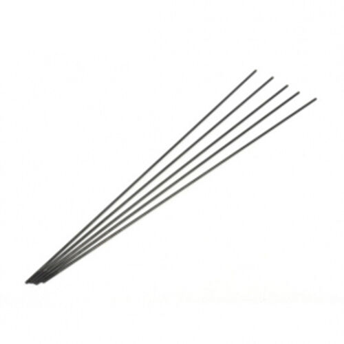 Black Steel Wire Push Rod 1 8 215 250mm One Tooth For Rc