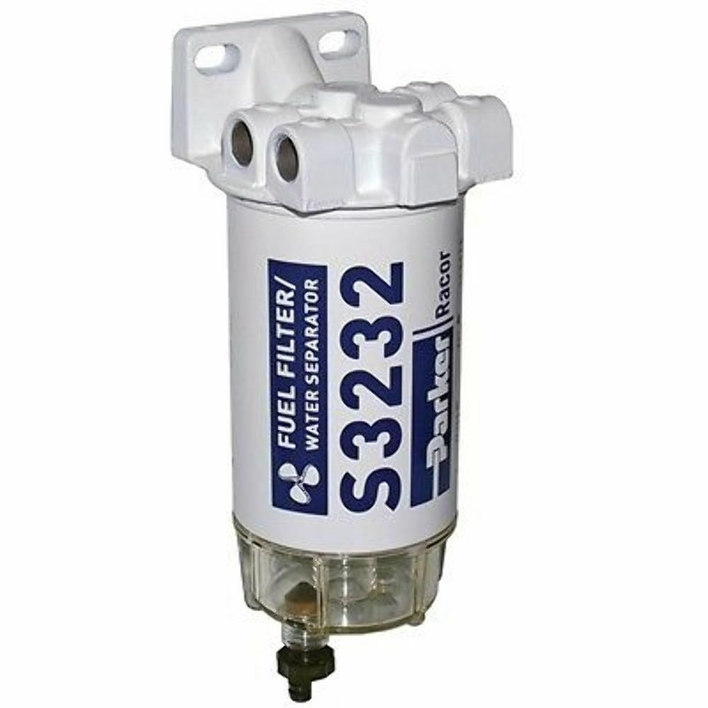 racor gas spin-on filter  water separator  8 u0026quot