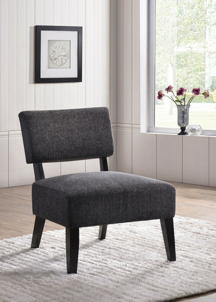 Kings Brand Furniture Upholstered Oversized Armless Accent