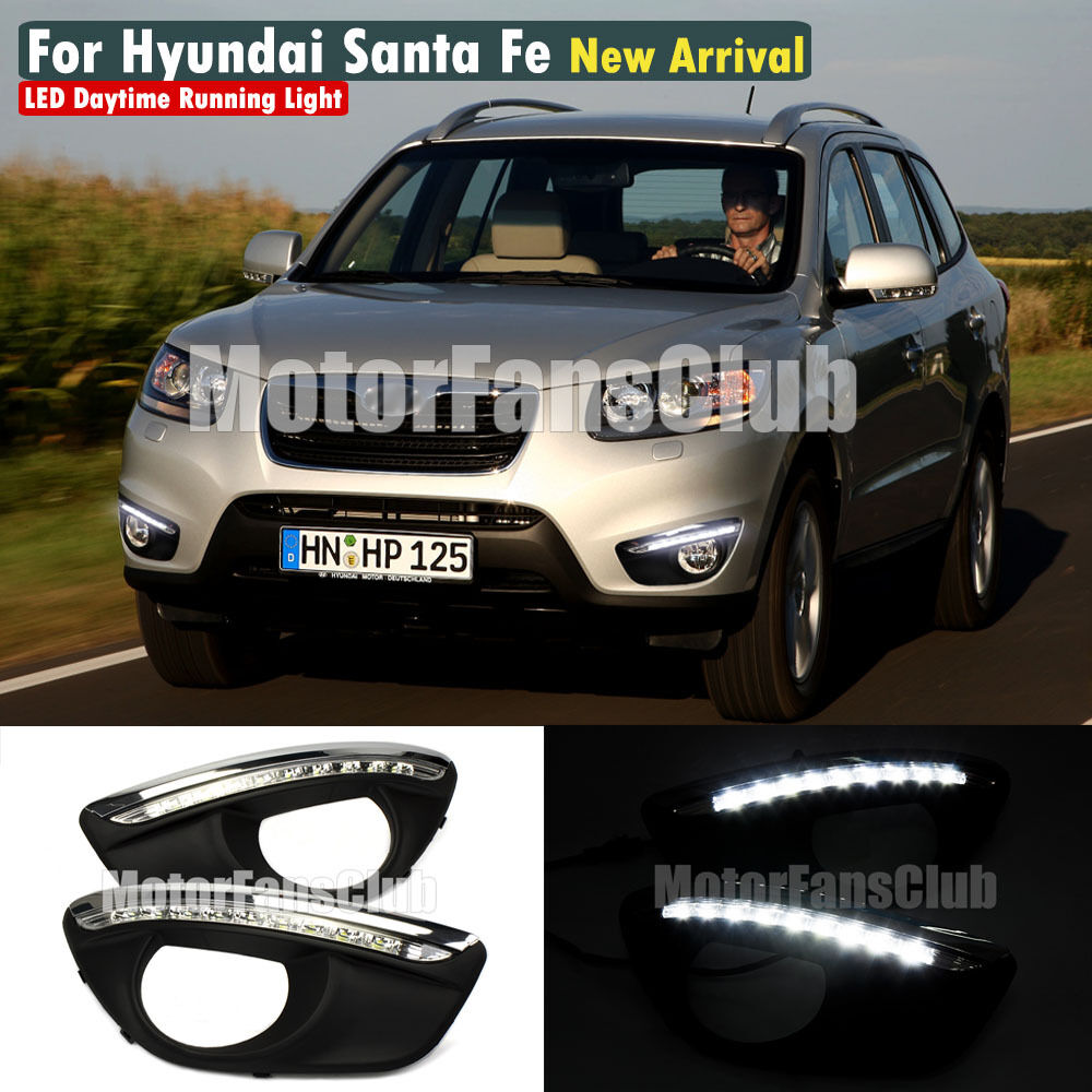 2011 Hyundai Santa Fe Exterior: LED Daytime Running Light For Hyundai Santa Fe IX45 DRL