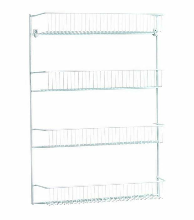 Closetmaid Steel 26 In 4 Tier Wall Pantry Storage Shelves